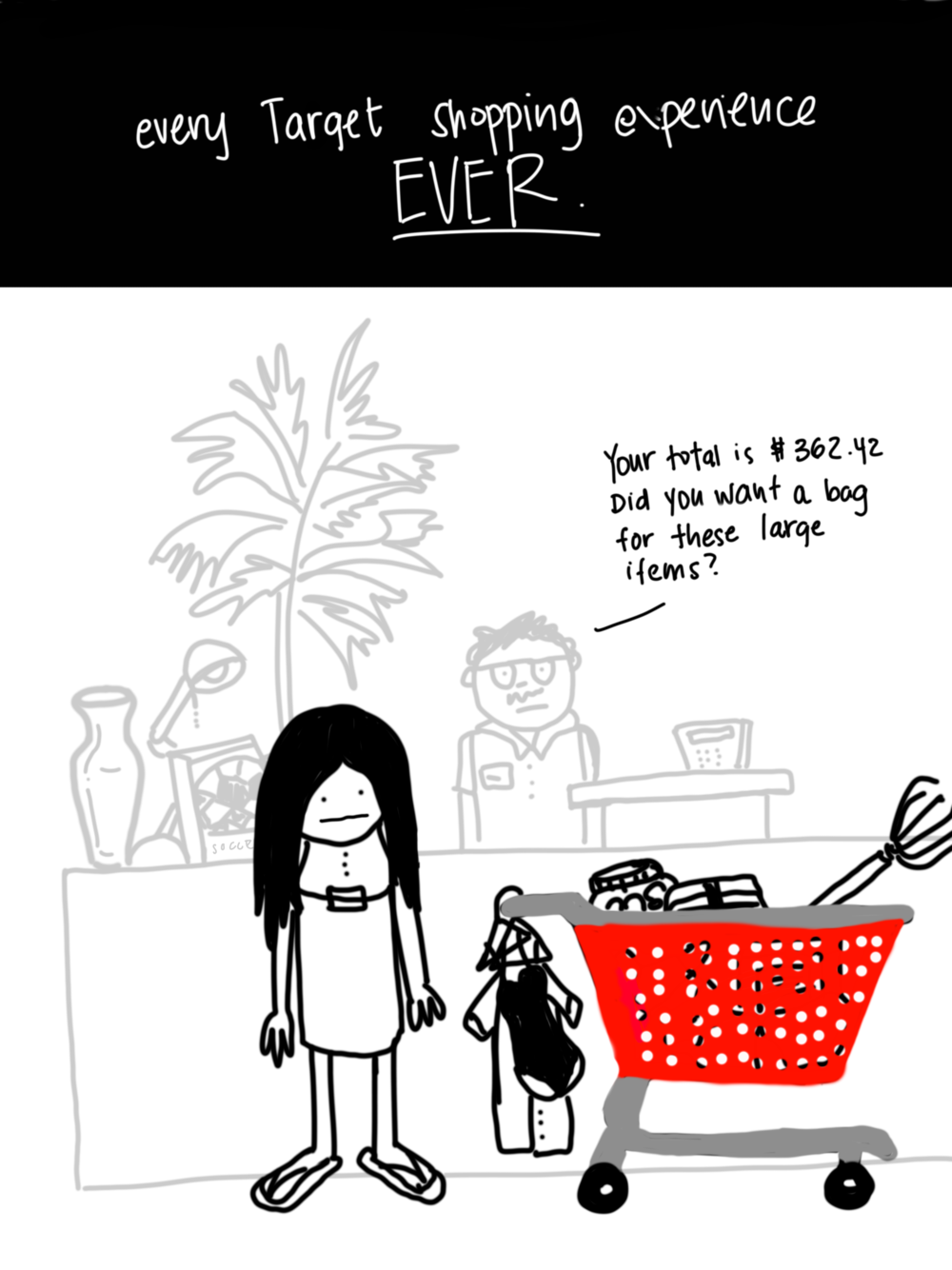 Every Target Shopping Experience Ever