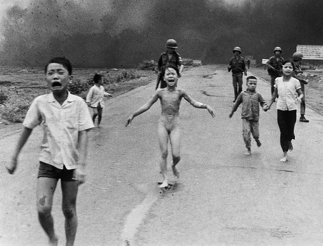 "The infamous ""Napalm Girl"" photo.  (Photo: Nick Út/AP)"