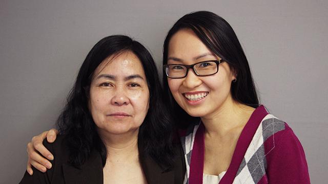 Vân Tâm Nguyễn and her daughter Nguyệt-Vy Vũ. (Photo: StoryCorps)