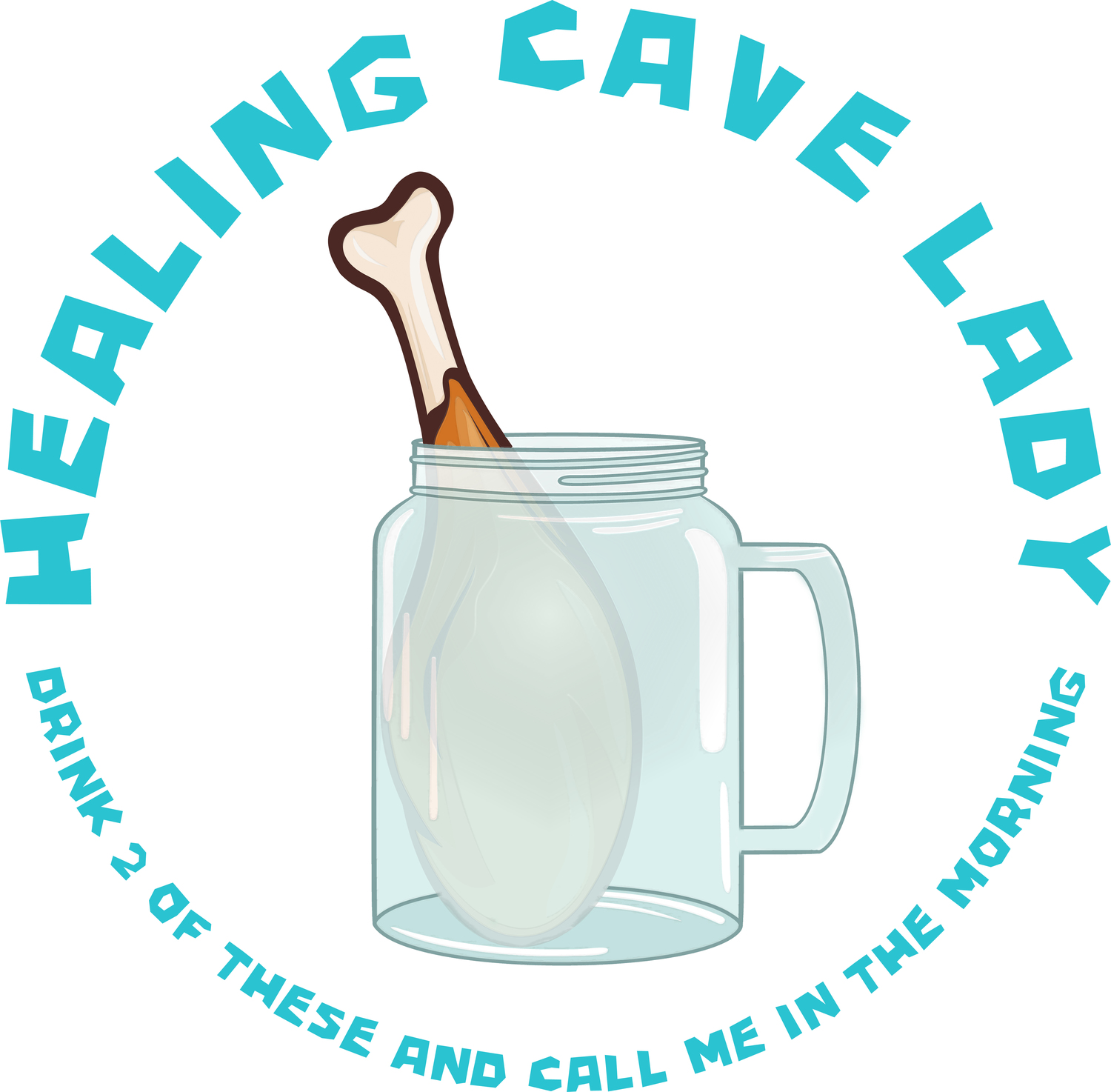 Healing Cave Lady