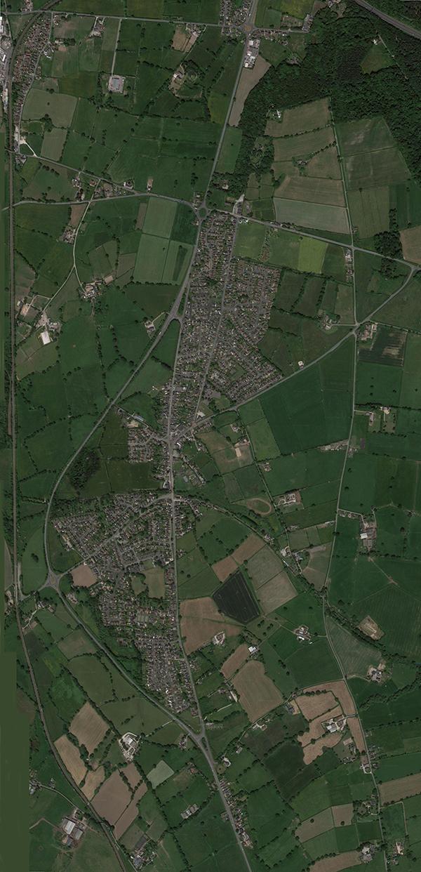 Millennial Pen-y-ffordd - the village in the year 2000
