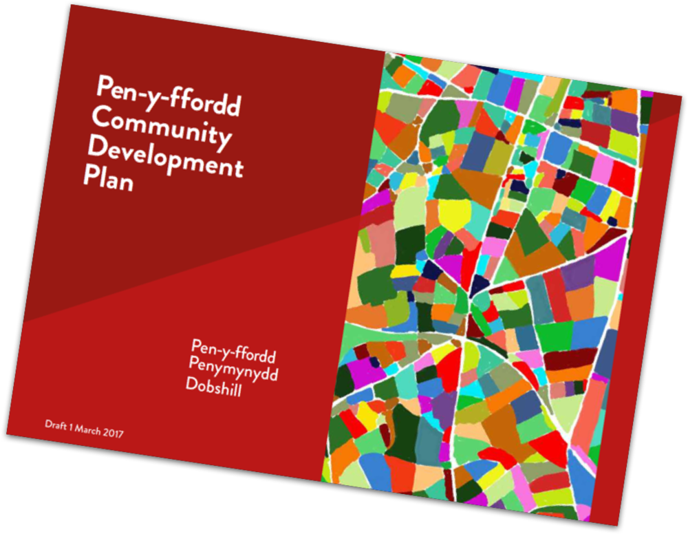 Cover of the Draft Plan - now written and open for consultation - click to view it now
