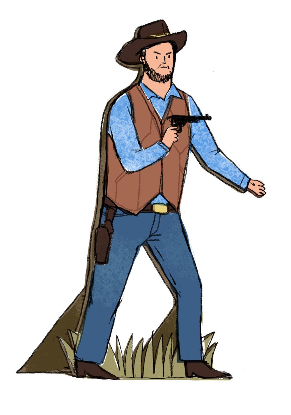A Fake Cowboy