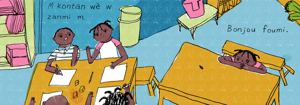 Haiti Children's book Project