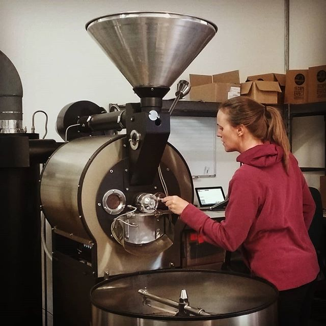 ROAST DAY It's always a good day to roast coffee. . #thecapeeffect #womenincoffee