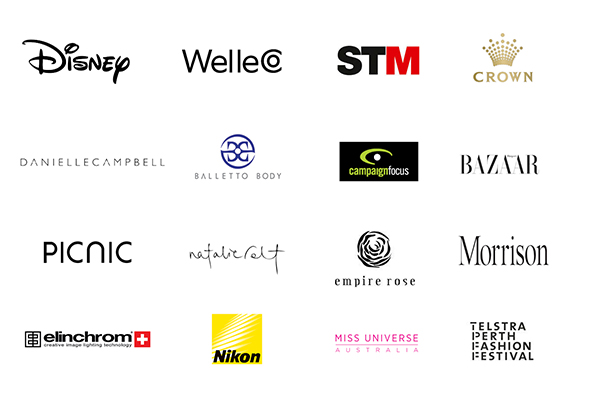 Some of the wonderful clients I have worked for. - STEF KING