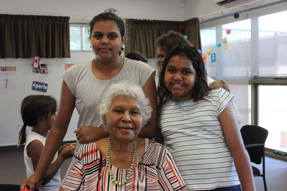 "Patricia Foster, Doreen Carroll and Shontae Swan enjoy their time together on Grandparent's Day   GRANDPARENT'S DAY CELEBRATION OCTOBER 29th 2017   Strong Kids Strong Centre held an event for Alice Springs grandparents for the first time ever in Alice Springs on October 29th.  The event was about celebrating the many roles that grandparents play in the lives of their grandchildren and to acknowledge the support they provide.   The event kicked off at the Gathering Garden at the Town Council, with more than 30 grandparents and grandchildren being welcomed and then walking together in celebration to the council buildings. Dolly Hampton,  a Strong Kids Strong Centre representative opened the event and welcomed the presenters who included the Mayor Damien Ryan, the Minister for Territory Families, Minister Wakefield  and Zania Liddle, a local grandmother.  They each spoke about the importance of grandparents and the many roles they play in this community and in supporting and raising their grandchildren. They also spoke of their own experiences and memories of their grandparents.   More than 50 grandparents and grandchildren enjoyed activities, time to talk and reflect and morning tea.  Some of the comments made by grandparents and grandchildren included;        ""   The community I want my grandchildren to grow up in is safe - no violence, e  veryone getting  on between the two cultures.""         ""My grandchildren are important to me because I feel they need a fair start to their future. That means love, protection, fairness and to be heard. Education is very important, so going to school every day is very important.""       ""My grandparents are important to me because they care for me and love me.""   This event was the result of a collaboration of a number of organisations, schools and community members connected with Strong Kids Strong Centre. It couldn't have happened without the extra support of volunteers on the day. Thank you to everyone involved and Happy Grandparent's Day to all the incredible grandparents who share knowledge, culture, tradition, stories, time and love with the children of Alice Springs."