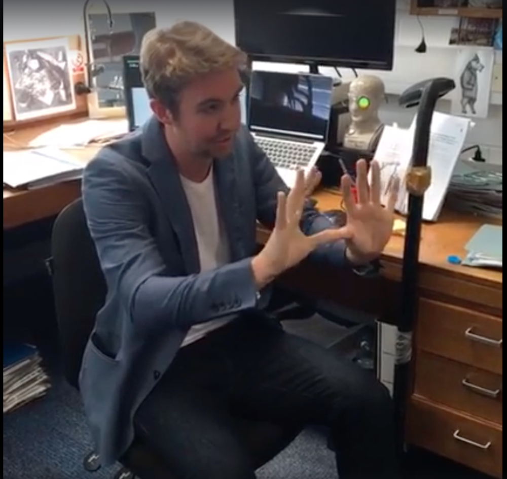 Filmed live from my office at the University of Oxford's Department of Experimental Psychology