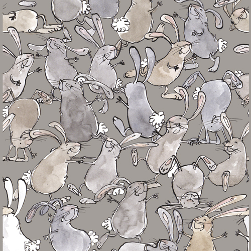 "busy rabbits - Background colour ""trees"""
