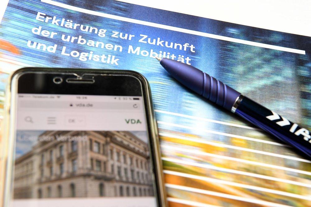 Gemeinsame Erklärung zur Zukunft der urbanen Mobilität und Logistik ©www.plattform-urbane-mobilitaet.de