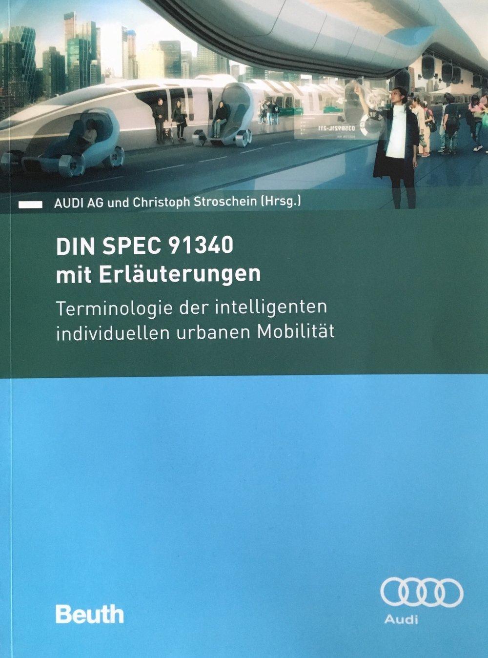 Terminologie der urbanen Mobilität ©Beuth Verlag