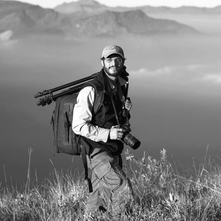 Prasenjeet Yadav  Prasenjeet is a molecular ecologist turned  @NatGeoExplorers . He combines storytelling and research experience with photography skills to communicate science to society. 'Shoot for Science' founder: an initiative to train scientists in scicomm!