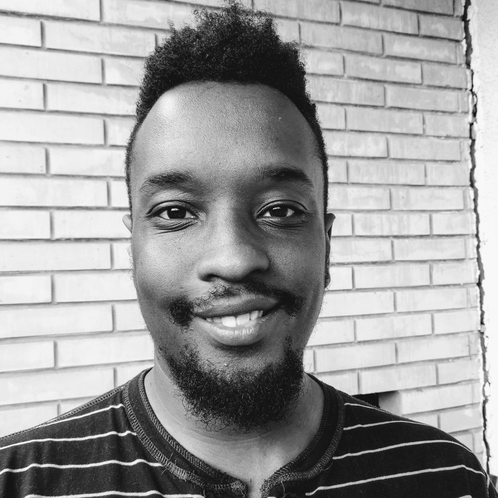 Marquis McGee  Marquis, our Composer! With a background in jazz improvisation, his wide vocabulary of musical language and genres he can provide a soundtrack fitting each team's message and style.  Key skills: MUSIC!