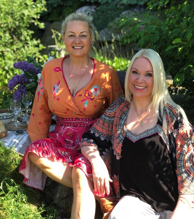 Marianne Haga Kinder och Franciska Munck-Johansen.