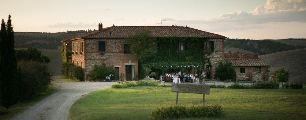 Agriturismo Il Rigo, a stunning rural B&B where we will enjoy lunch and a pasta making demonstration.