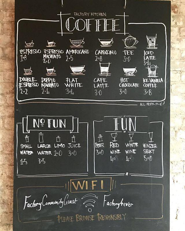 Kaffee? Wir haben den besten! ☕️#factorykitchenberlin
