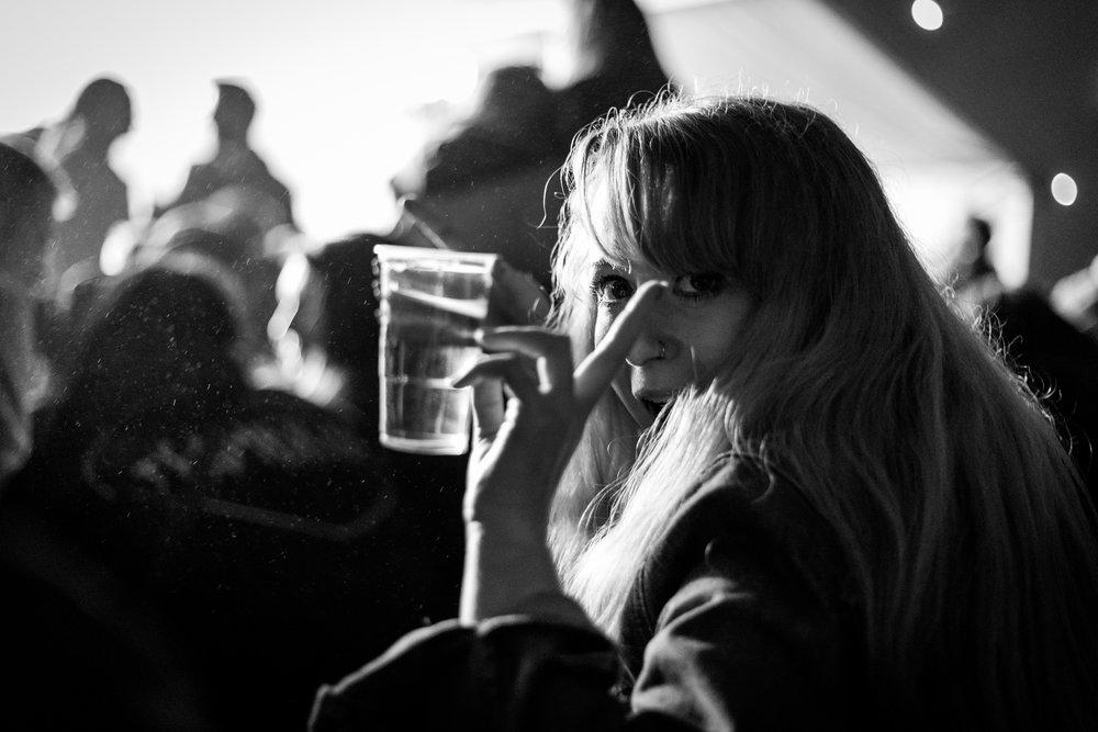 Erin Donnachie at Brew at the Bog