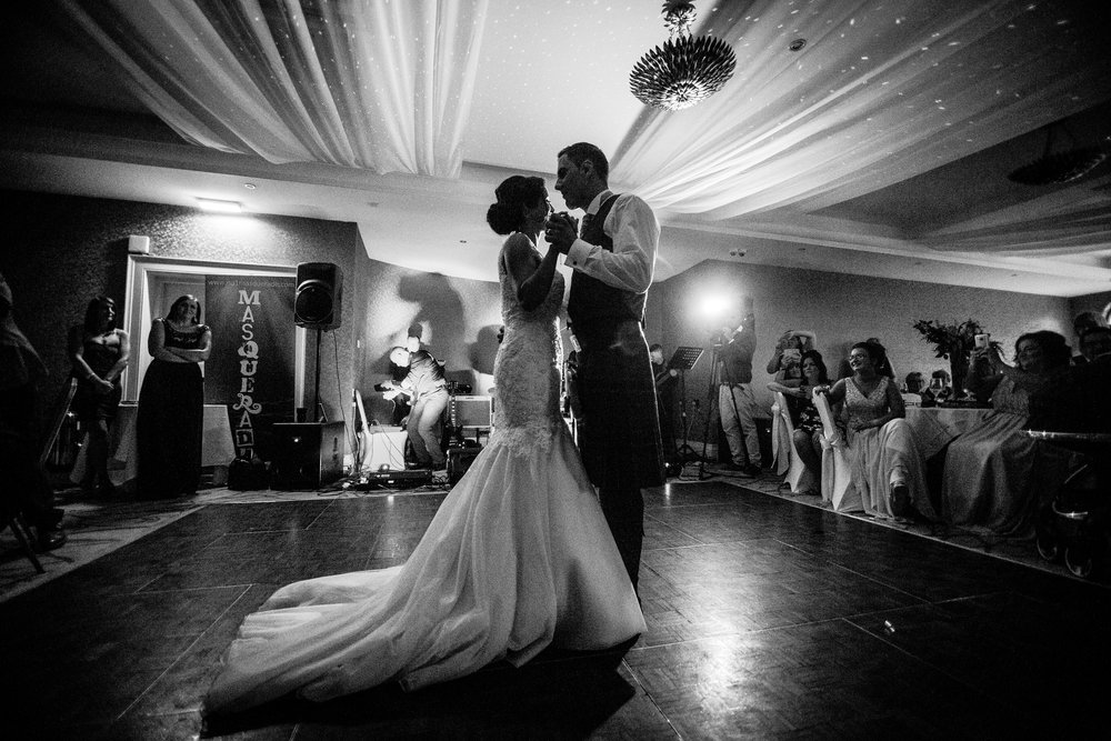 The first dance of mr and mrs Carmichael