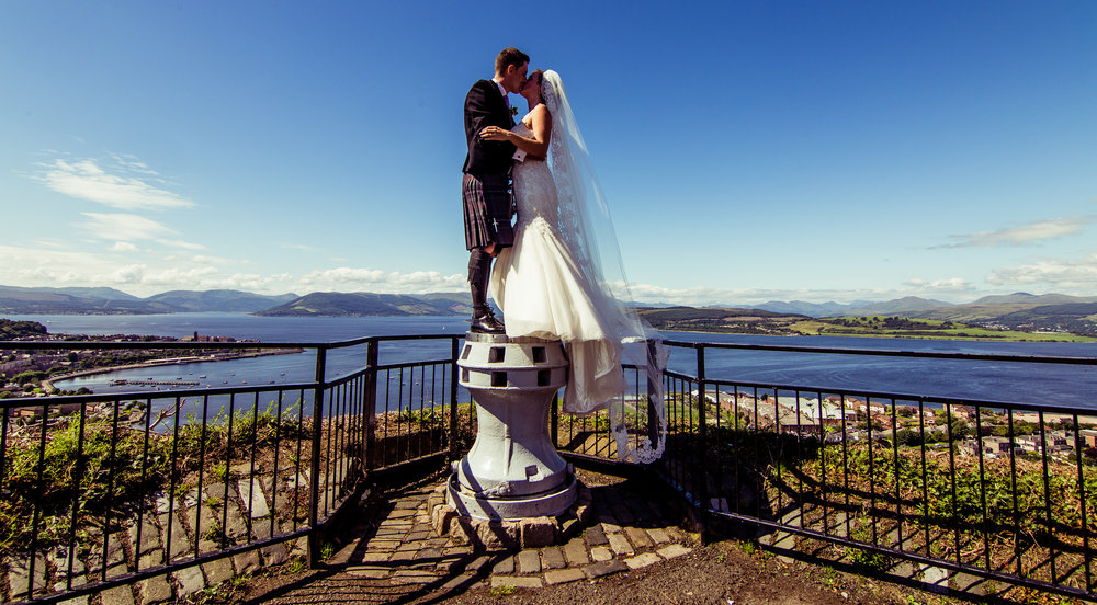 The wedding of mr and mrs Carmichael