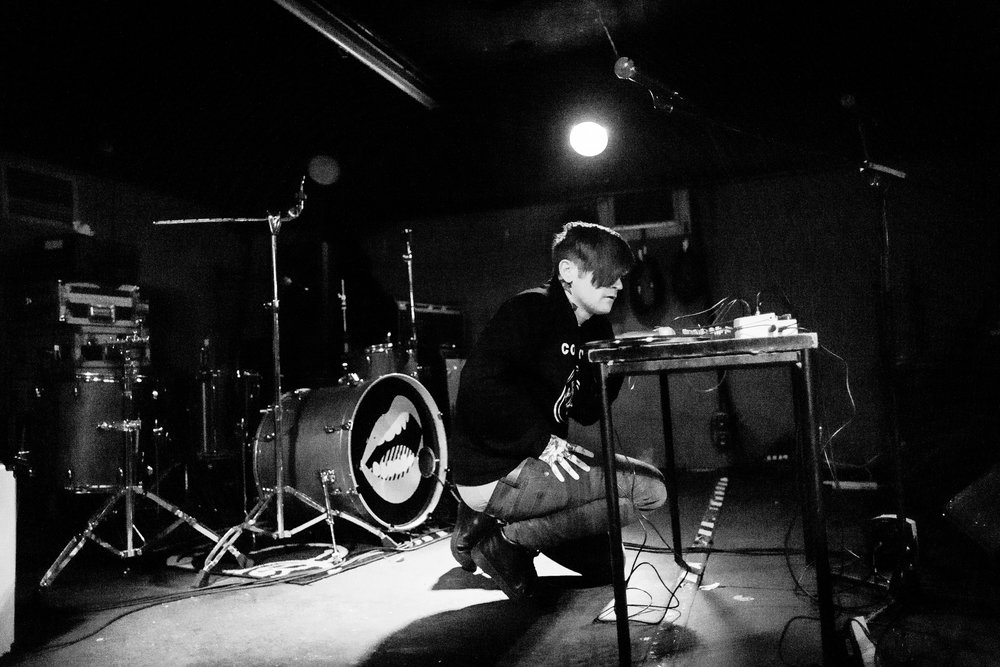 The Eager Tongue @ Nice 'N' Sleazy, Glasgow // photograph by Calum McMillan