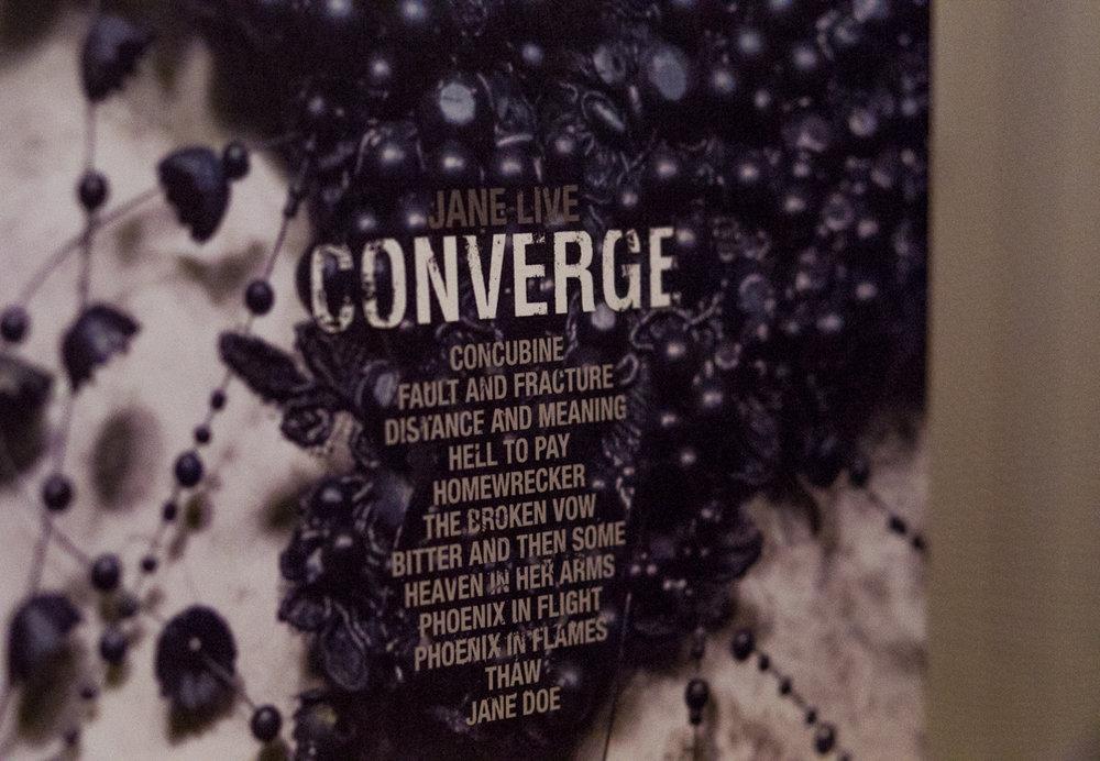 "Converge ""Jane Live"" (Deathwish Inc 2017)"