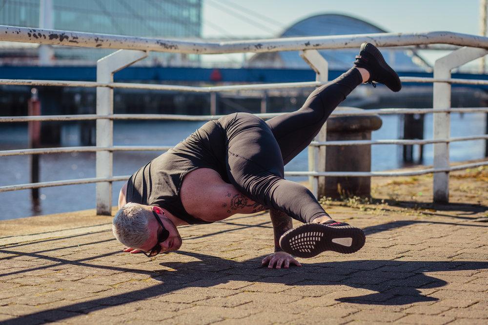 Kyle Gary @ Om Yoga Festival, Glasgow / Mar 2017