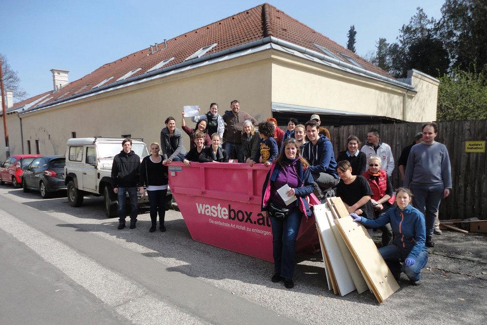vinzidorfwien freiwillige unterstützung - DANKE!