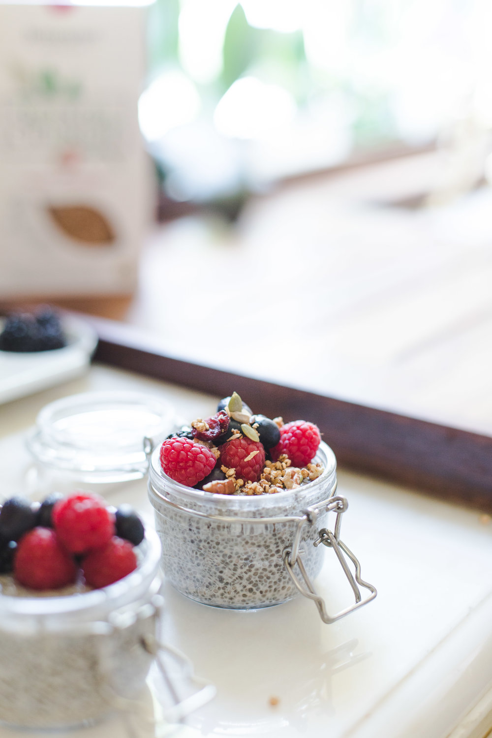 chia seed pudding with fruit recipe