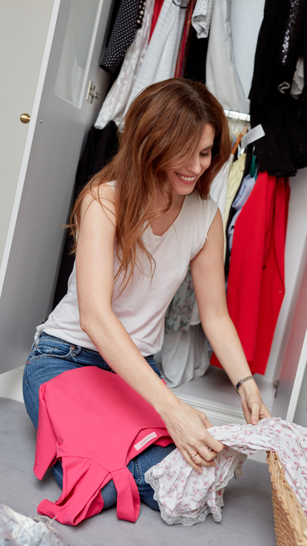 cleaning out your closet by fashion blogger Holly White
