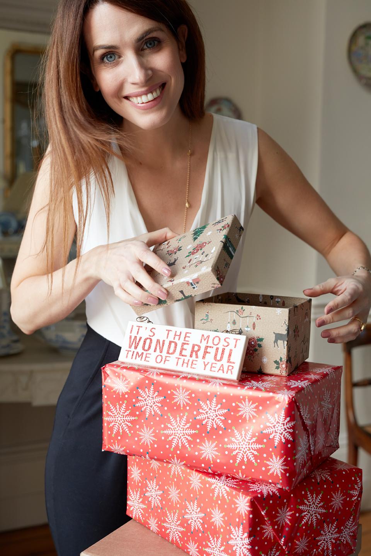 Holly White Christmas gift idea