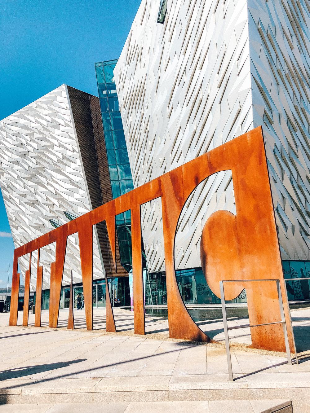 Titanic Belfast exhibition