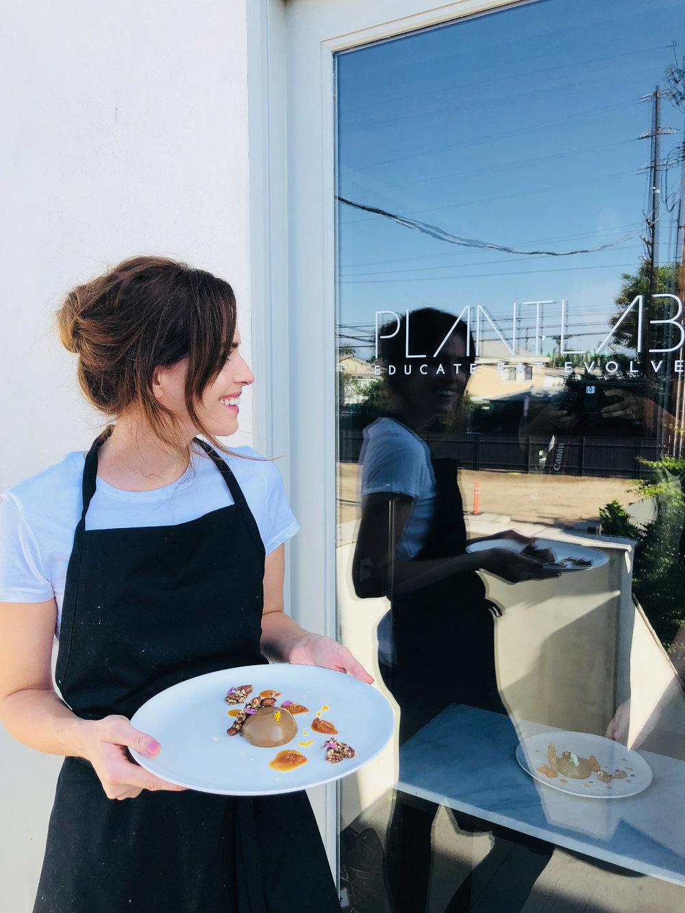 Plantlab, Holly White, Vegan Chef, LA, Venice, Plantlab