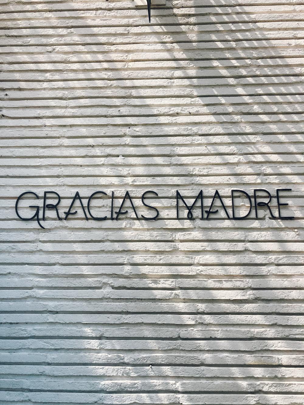 Gracias Madre, Visit LA, Vegan Food LA, Plant Based Mexican,