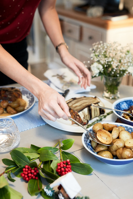 Nut Roast, De Dietrich, vegan Christmas recipes.