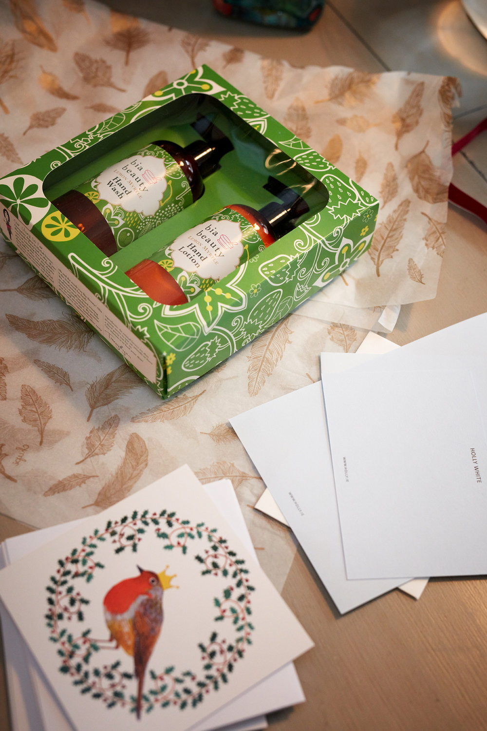 Holly White, Bia Beauty, Christmas gift sets,