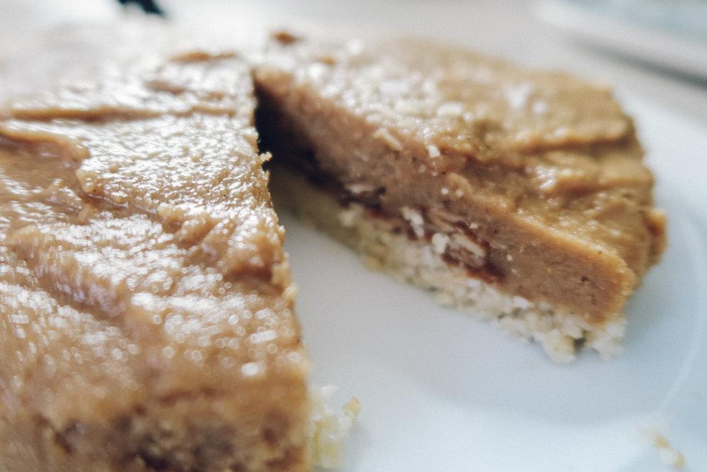 Holly White, Salted Caramel Tart, Vegan food, Recipes