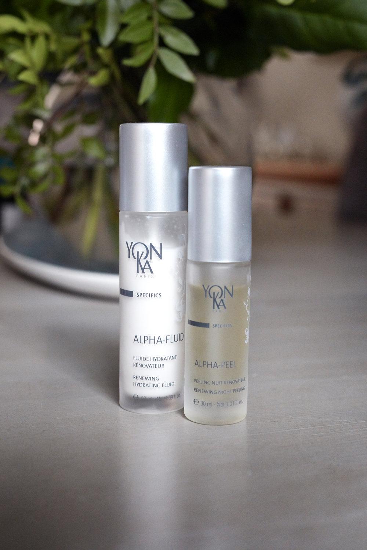 Yonka Alpha Peel, Holly White, Natural Skincare, Vegan beauty,