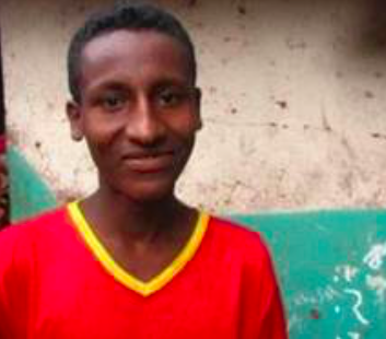 Hiskel is 12 years old, an orphan who is the youngest of 5 children. His favourite subject is English and he likes to play football in his free time. When he grows up, Hiskel would like to be a doctor so that he can help others. With his monthly stipend Hiskel purchased a chicken. He now collects the eggs and sells them to make a small income to help his family.
