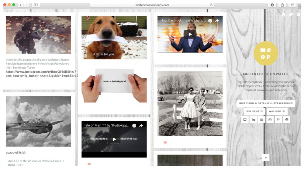 - moltencheeseonpatty.comMein digitales Scarpbook – gerne mal reinschauen!