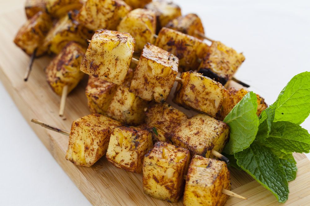 Grilled Bourbon Pineapple