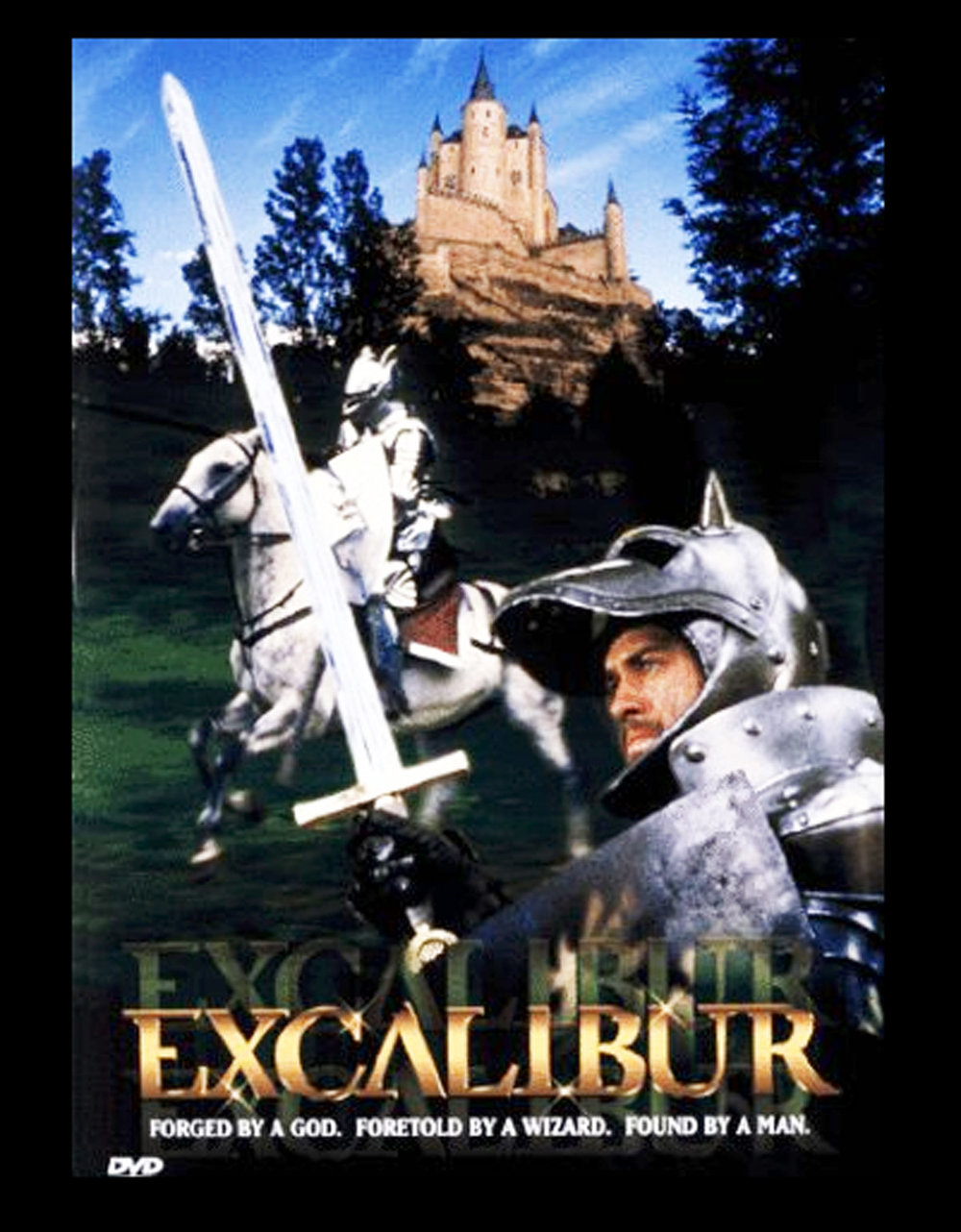 Excalibur - A John Boorman film, shot in Ireland at Ardmore Studios, Bray, Co Wicklow.With Helen Mirren and Liam Neeson in starring roles, this film was a landmark in their formative careers.