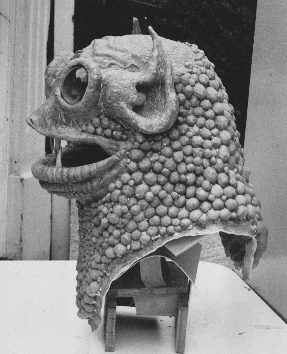 Monsters - Plaster, clay and Latex rubber are very versatile materials for the making of monsters.