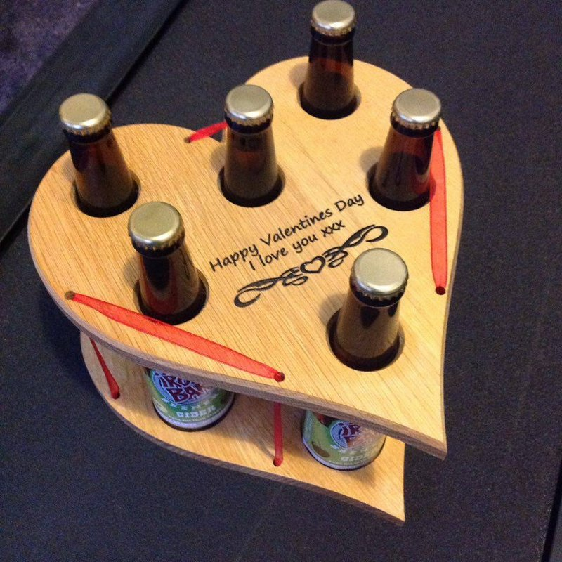 Valentines Day Beer Caddy