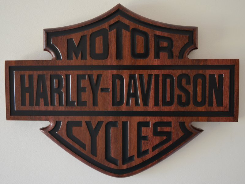 Jarrah Harley Bar and Shield