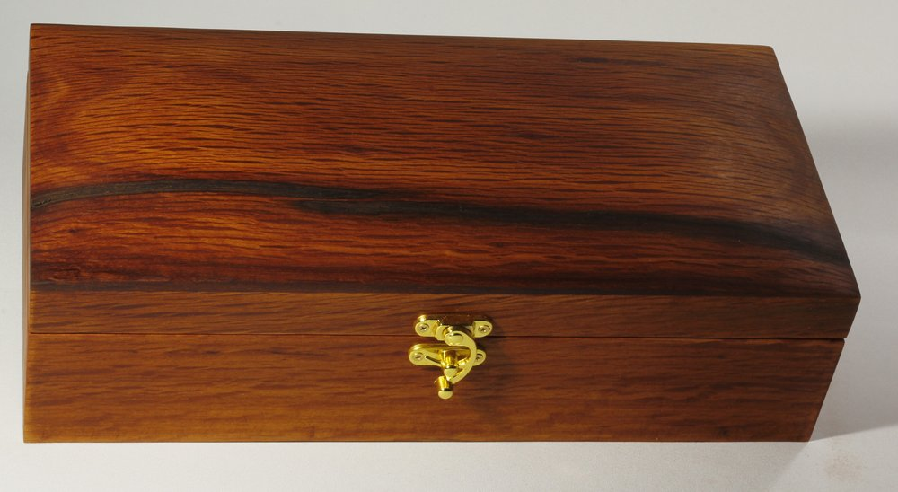 Sheoak Chest with Swing clasp