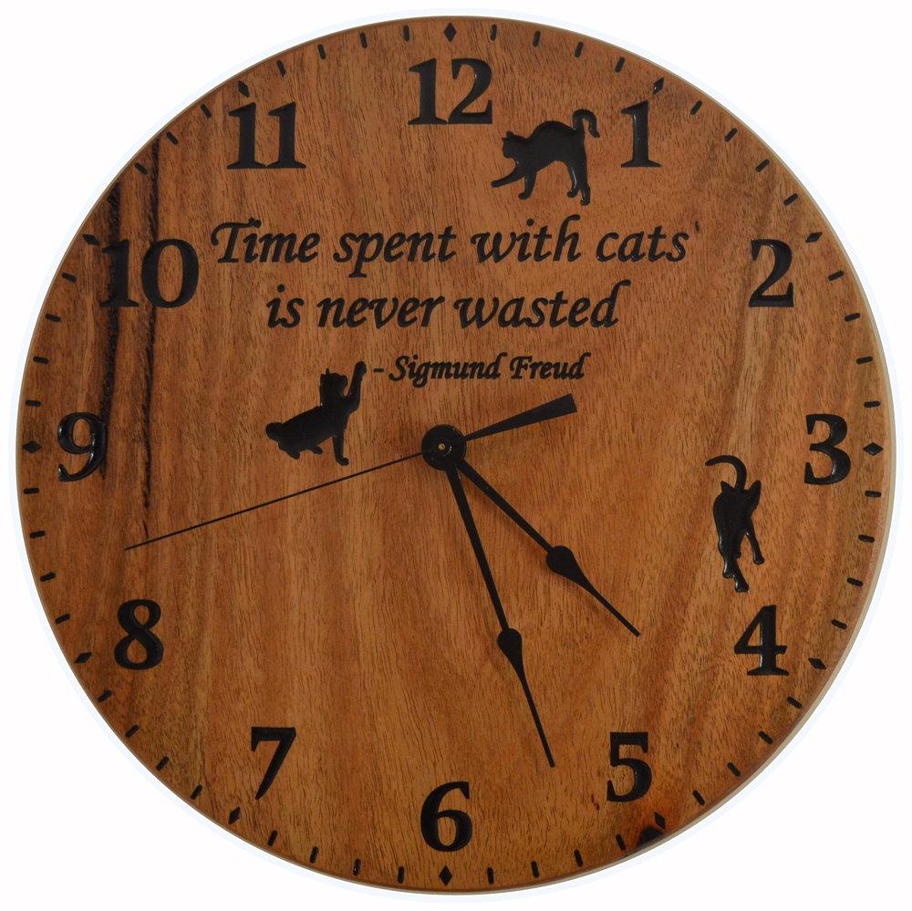 Marri Cat Clock