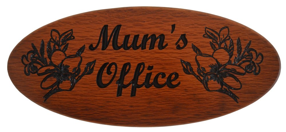 Sheoak Office Sign