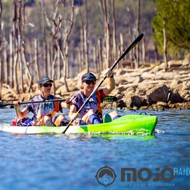 A different kind of endurance... @mojo_adventure 📸@twocatsphotography #artofendurance #adventureawaits #endurance #adventurerace #kayak #paddle #lakemoogerah #scenicrim