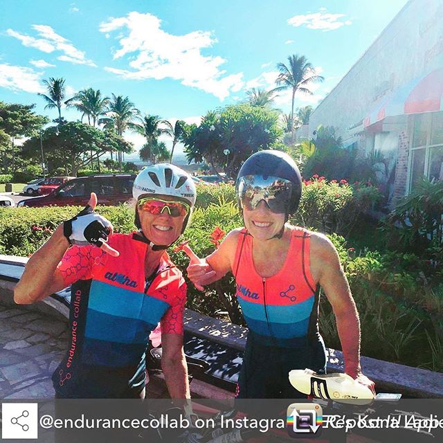 "KONA is here...and here is our aloha kit collaboration with @endurancecollab All the best to these two ladies for their big dance! Repost from @endurancecollab on Instagram: ""EC's Kona Ladies looking pretty chuffed and ready to race 👊🏽🚴🏽‍♀️🚴🏽‍♀️ • • #endurancecollab…"" using @RepostRegramApp - EC's Kona Ladies looking pretty chuffed and ready to race 👊🏽🚴🏽‍♀️🚴🏽‍♀️ • • #endurancecollab #ecrevolution #getafterit #waragainstmediocrity #kona #imwc #imkona #worldchampions #ironmanworldchampionship #artofendurance #aoe"