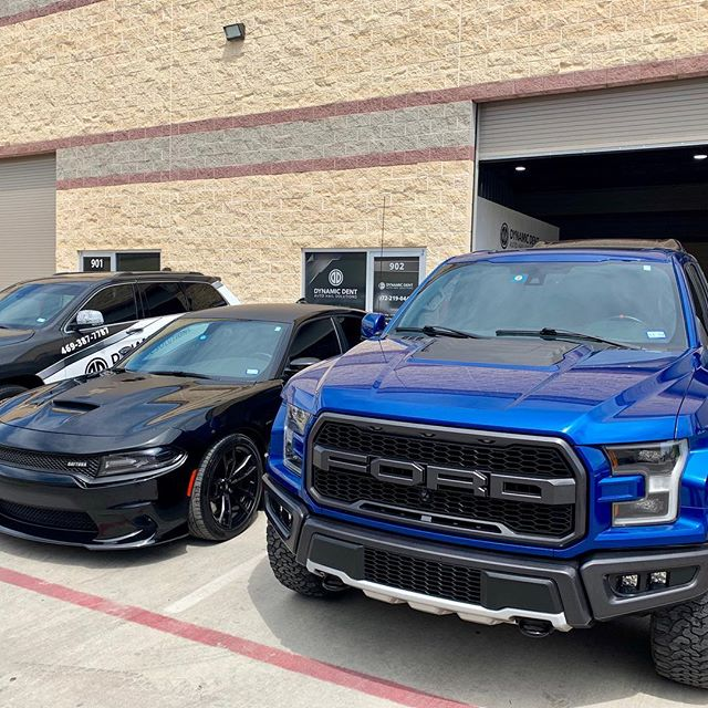 Raptor and Daytona Charger all repaired from recent hailstorms! #ford #fordraptor #fordf150 #dodge #dodgecharger #dodgechargerdaytona392 #pdr #dentrepair #pdrlifestyle #pdrlife